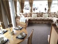 Lovely 3 bedroom family caravan at 5* Amble Links, Pride of Northumberland