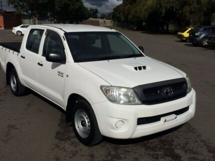 2010 Toyota Hilux KUN16R MY11 Upgrade SR 5 Speed Manual Dual Cab Pick-up