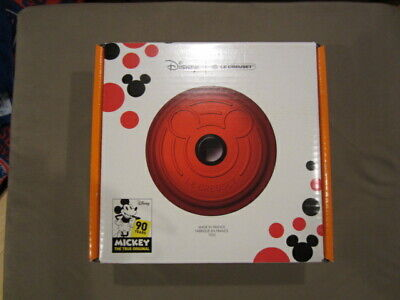LE CREUSET DISNEY MICKEY MOUSE 90th Anniversary Limited Edition DUTCH OVEN 18