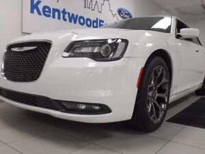 2016 Chrysler 300 300S with heated power leather seats, back up