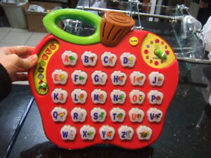 VTech Alphabet Apple Phonic Sound Learning Toy Teaching 1606