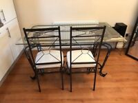 Kitchen/ Garden Table with 4 Chairs
