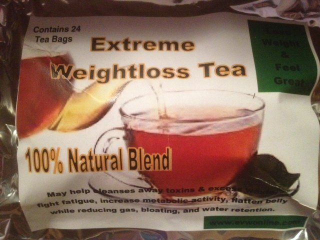 Extreme Weightloss Herbal Slimming Orange Spice Tea Lose Weight