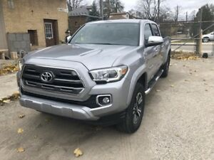 2016 Toyota Tacoma Limited_SILVER ON MOCHA LEATHER_ NAVI Limited
