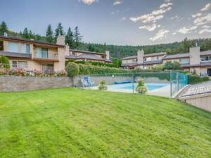 Gorgeous Waterfront Paul Lake Home with Heated Pool