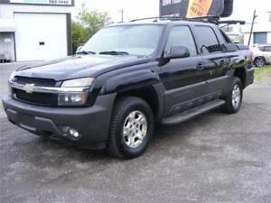 2005 Chevrolet Avalanche LT 4X4 DVD, SUNROOF, LEATHER