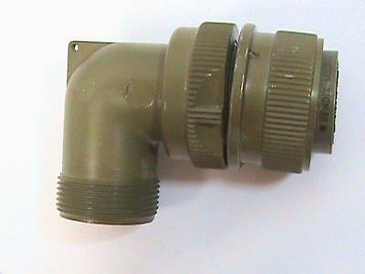 Bendix MS3108-4S 90 Degree Right Angle Backshell Connector