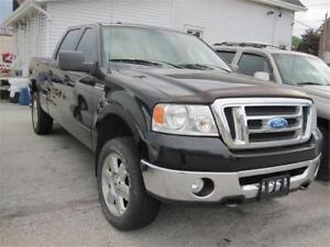 2008 Ford F-150 XLT Super Crew Clean Carproof 4WD V8 5.4L Camera