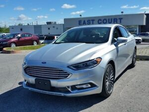 2017 Ford Fusion Titanium, AWD, Heated Seats, NAV, Back Up Cam