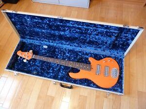 Modified Lakland 55-01 Skyline 5-String Bass Guitar