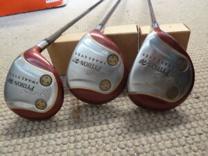 3, 5, 7  Snake Eyes Python-W Fairway Woods - Graphite Golf Clubs