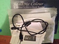 """Binatone ReadMe Colour eBook Reader 2285 7"""" Screen Wt 8 GB SD CARD"""