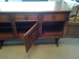 Sideboard with cupboards and drawers