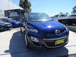 2010 Mazda CX-7 ER MY10 Luxury Sports (4x4) Dark Blue 6 Speed Auto Activematic Wagon St Marys Penrith Area Preview