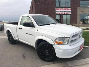 SPORTY 2012 RAM 1500 2 DOOR SHORT BOX, FULLY CERTIFIED!