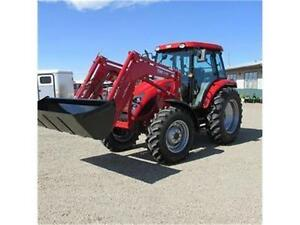 NEW TYM 1003 (Perkins Powered) 100 HP Tractor w. Cab and Loader