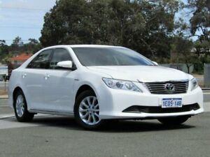 2012 Toyota Aurion GSV50R AT-X White 6 Speed Sports Automatic Sedan
