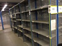 dexion impex industrial shelving 2.4 meters high ( storage , pallet racking )