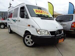 2003 Mercedes-Benz Sprinter White Seq Manual Auto-Clutch Van Enfield Port Adelaide Area Preview