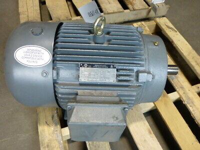 15hp Worldwide Electric Pewwe15-18-254tc Motor 254tc Frame 1800 Rpm