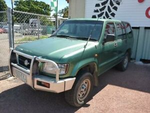 1999 Holden Jackaroo L8 SE Green Automatic Wagon Townsville Townsville City Preview