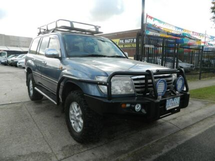 2005 Toyota Landcruiser UZJ100R GXL (4x4) Blue 5 Speed Automatic Wagon Williamstown North Hobsons Bay Area Preview