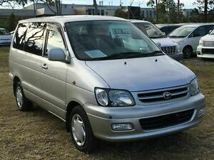 2001 Toyota Spacia NOAH Liteace Import White 4 Speed Automatic Wagon Taren Point Sutherland Area Preview