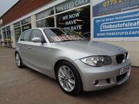 BMW 120 2.0TD 2009 d M Sport Full S/H Good miles P/X swap