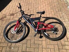 Duel suspension Mountain Bike