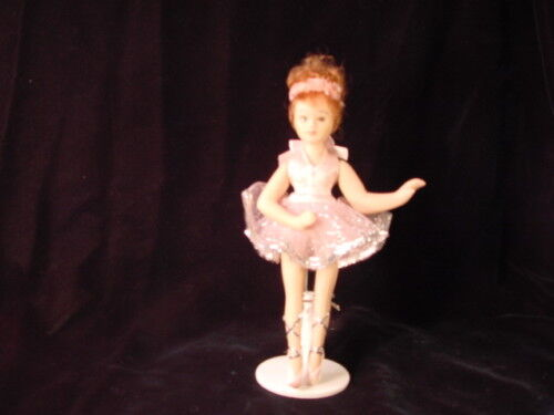 Porcelain Ballerina Doll W/ Stand Dance  Gift