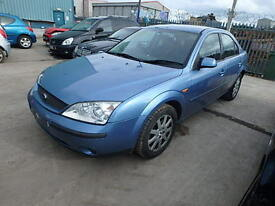 Ford Mondeo Bonnet In Blue Breaking For Parts (2002)