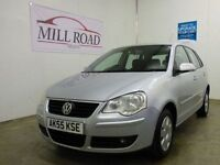 VOLKSWAGEN POLO 1.2 S 5d 54 BHP EXCELLENT CONDITION (silver) 2005