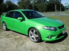 2009 Ford Falcon FG XR6 Green 5 Speed Sports Automatic Sedan Strathpine Pine Rivers Area Preview