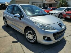 2012 Peugeot 207 A7 Series II MY11 XR Silver 4 Speed Sports Automatic Hatchback Park Holme Marion Area Preview