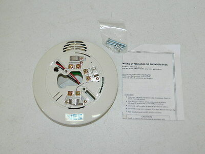 New Ves Viking Vf7002 Fire Alarm Smoke Detector Base Only Use With Hochiki