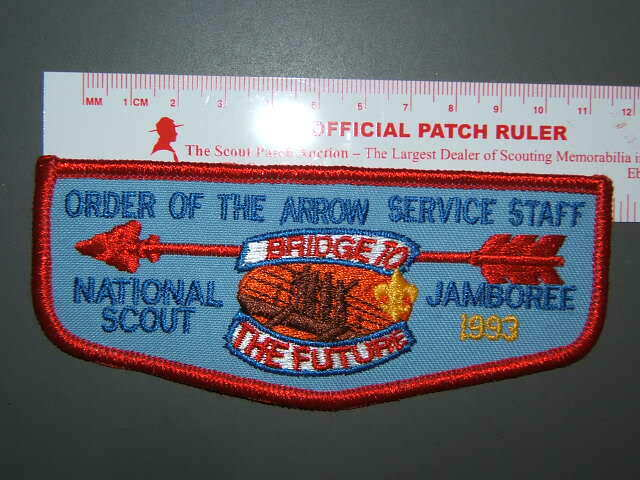 Boy Scout 1993 NJ OA Service Corps flap 3062U