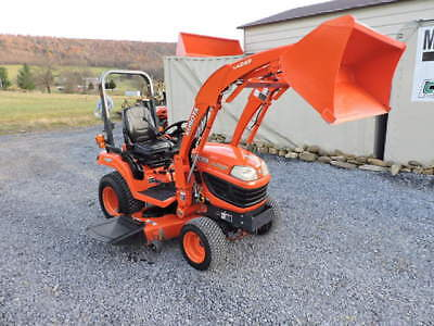2012 Kubota Bx2660 Xtra Power Sub Compact Tractor Loader Belly Mower 4x4 Diesel