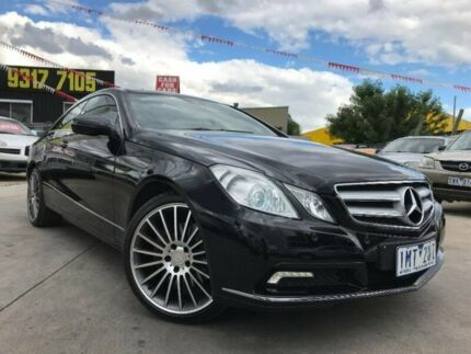 2010 Mercedes-Benz E350 C207 Avantgarde 7G-Tronic Black 7 Speed Sports Automatic Coupe Maidstone Maribyrnong Area Preview
