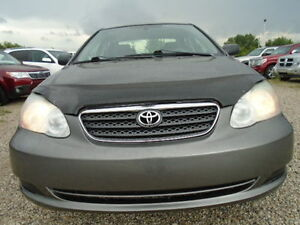 2007 Toyota Corolla CE--ONE OWNER-ONLY 111,000KM----5 SPEED