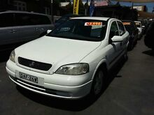 2000 Holden Astra TS MY2001 CD White 4 Speed Automatic Hatchback Haberfield Ashfield Area Preview