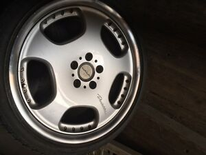 19-inch WALD D23 Duchatelet II 3-piece Rims Only