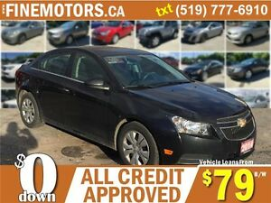 2014 CHEVROLET CRUZE LT * LIKE NEW * FINANCING AVAILABLE