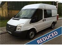 2012 Ford Transit 2.2TDCi 100PSEU5 280S Low Roof Crew Van Manual Combi Van
