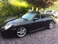 Porsche 911 996 Carrera 4 Convertible - New clutch, MOT & Service, AWD, Manual, Sports Exhaust
