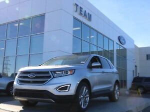 2017 Ford Edge TITANIUM, 300A, SYNC3, NAV, MOONROOF, HEATED STEE