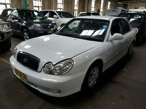 2003 Hyundai Sonata EF-B GL White 4 Speed Auto Selectronic Sedan Georgetown Newcastle Area Preview