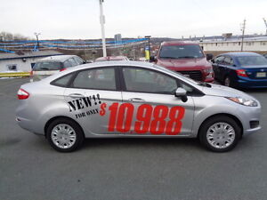 """2015 FIESTA """"S"""" SEDAN 5-SPEED MANUAL! REDUCED FOR CLEARANCE!"""