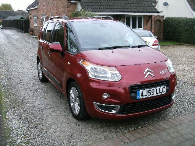 2009 CITROEN C3 PICASSO 1.6 HDI EXCLUSIVE RED