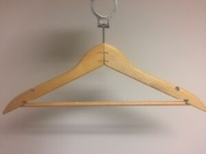 ANTI-THEFT HANGER SET FOR SALE; INCLUDES 2 RACKS!!!