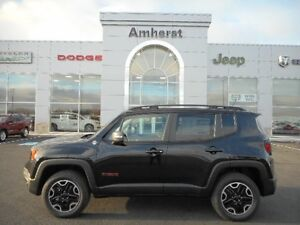 2016 Jeep Renegade TRAILHAWK 4x4 4 cylinder EXCELLENT ON FUEL &